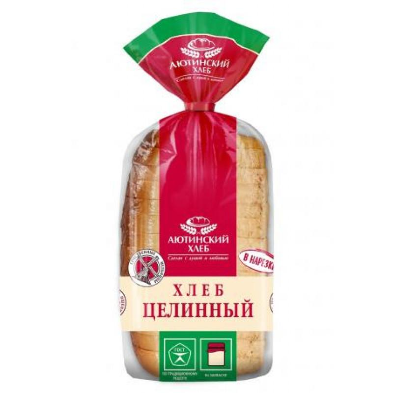 Хлеб целинный 1 сорт Аютинский, 620гр