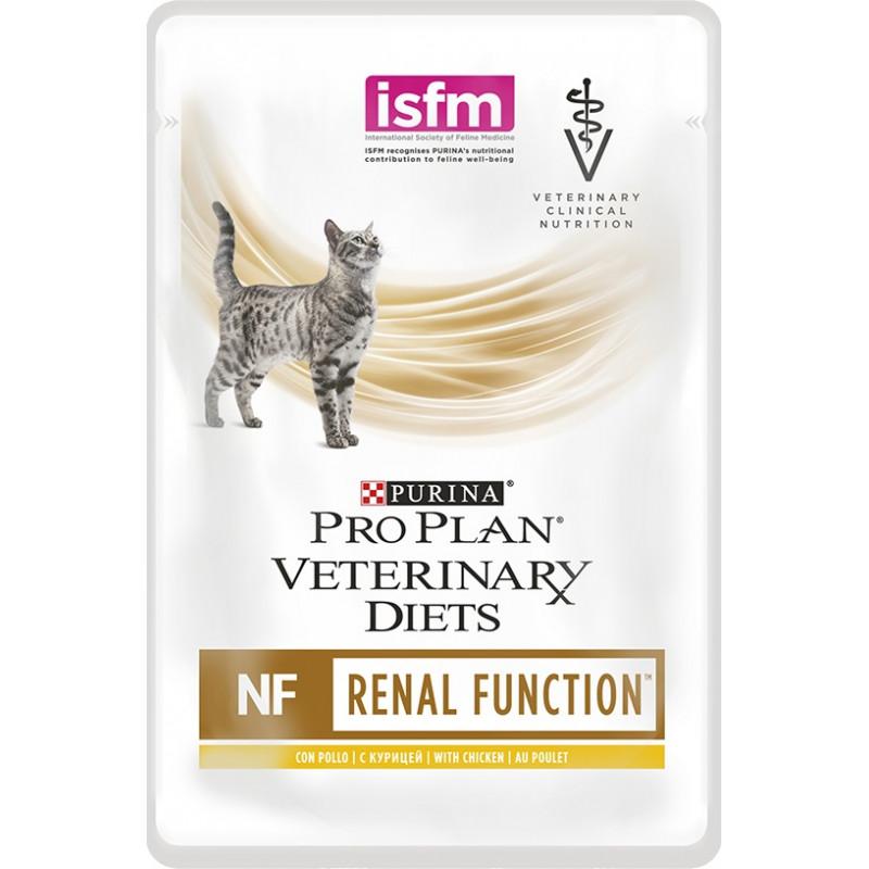 """Влажный корм для кошек при почечной недостаточности с курицей """"Purina Pro Plan (вет. корма)"""" NF, 85гр"""