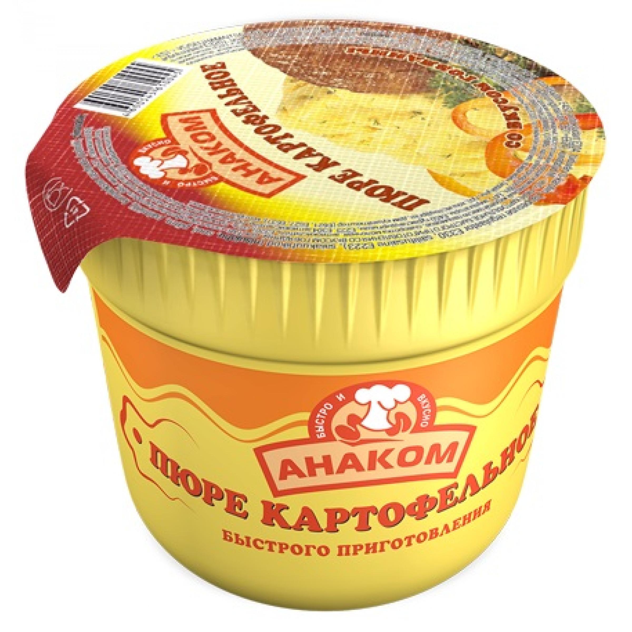 """Картофельное пюре """"Анаком"""" говядина, 40гр"""