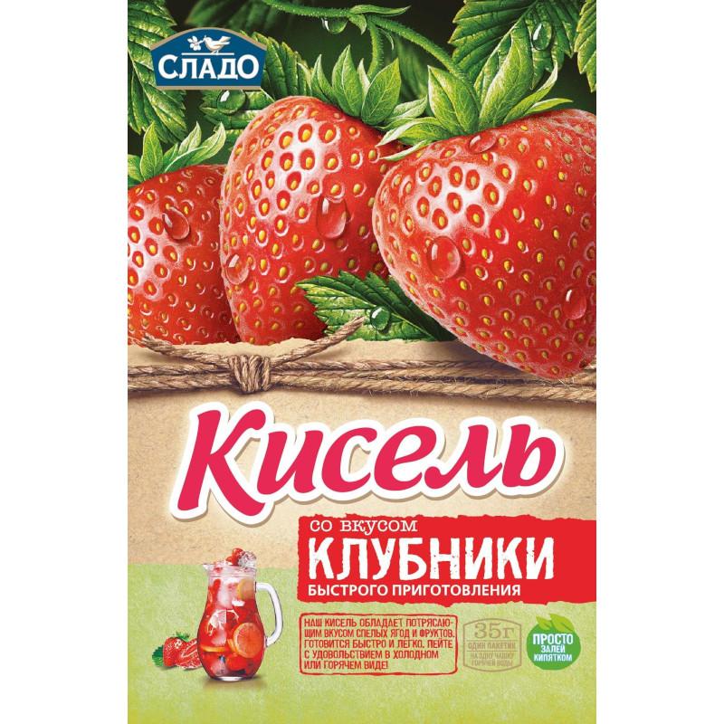 "Кисель Момент ""Агроимпорт"" клубника, 35гр"