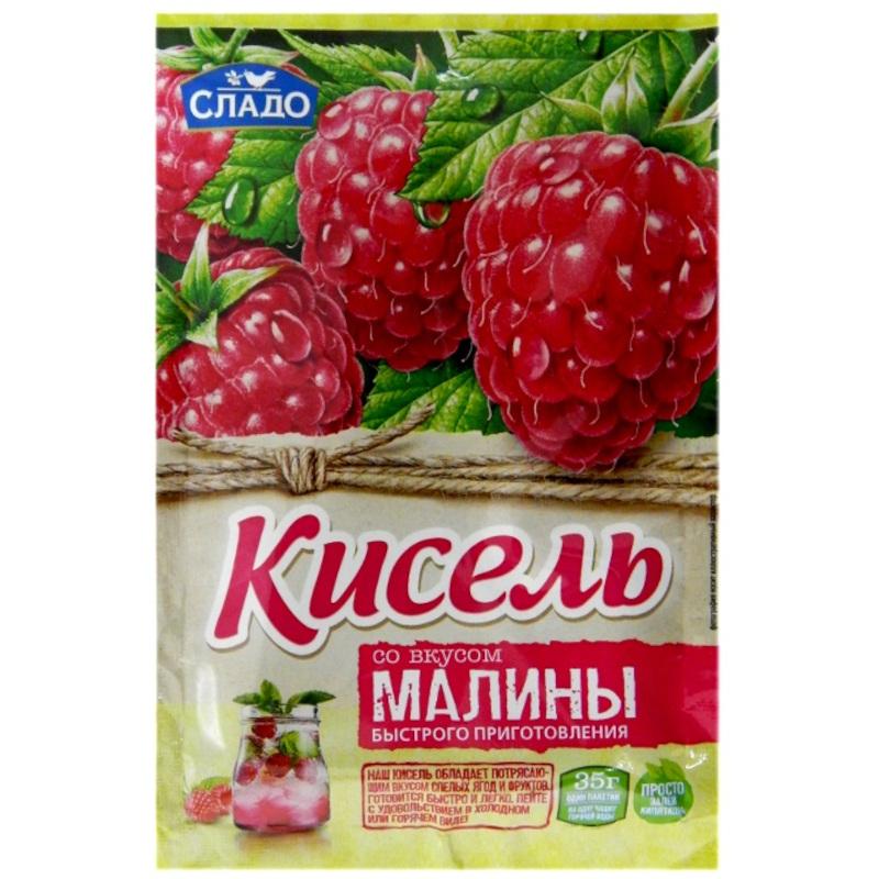 "Кисель Момент ""Агроимпорт"" малина, 35гр"
