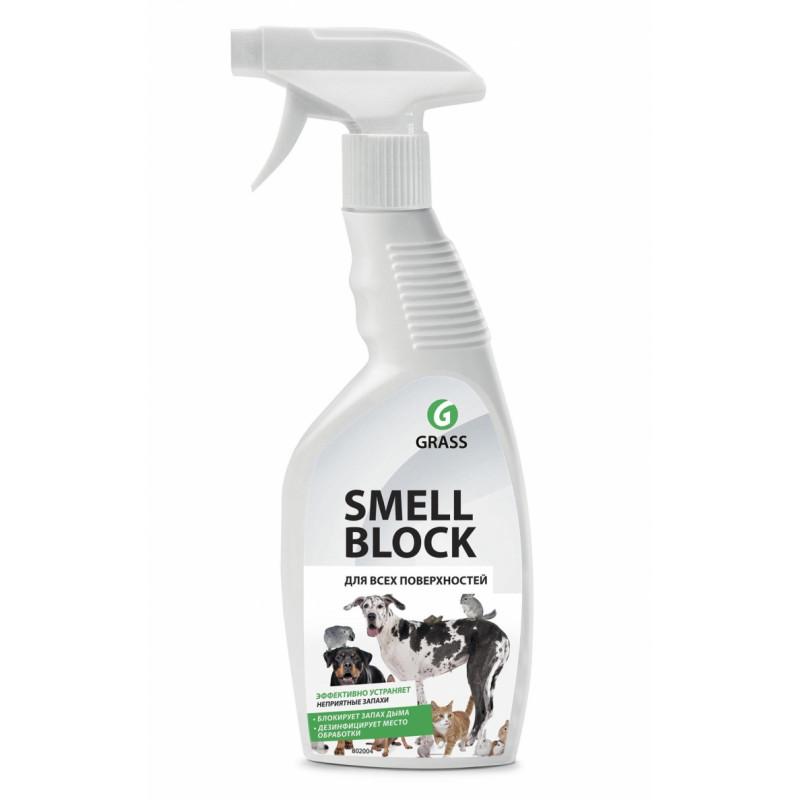 "Средство против запаха всех поверхностей ""Smell Block"" GRASS, 600мл"