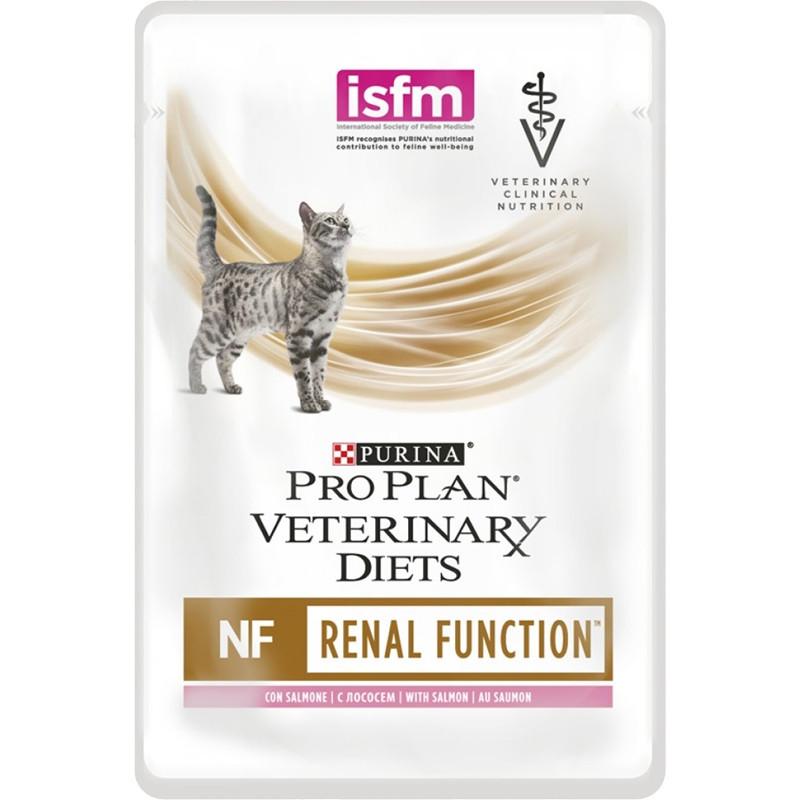 """Влажный корм для кошек при почечной недостаточности с лососем """"Purina Pro Plan (вет. корма) NF, 85гр"""