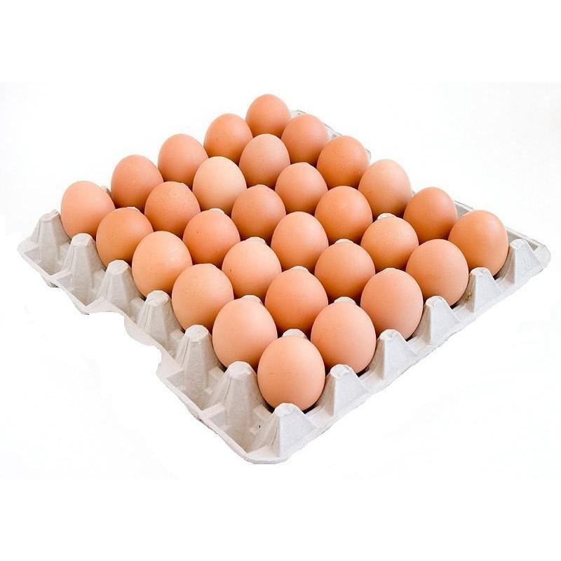 Яйцо куриное ЖЕЛТОК СОЛНЦА С-1 категории фасованное, 30шт