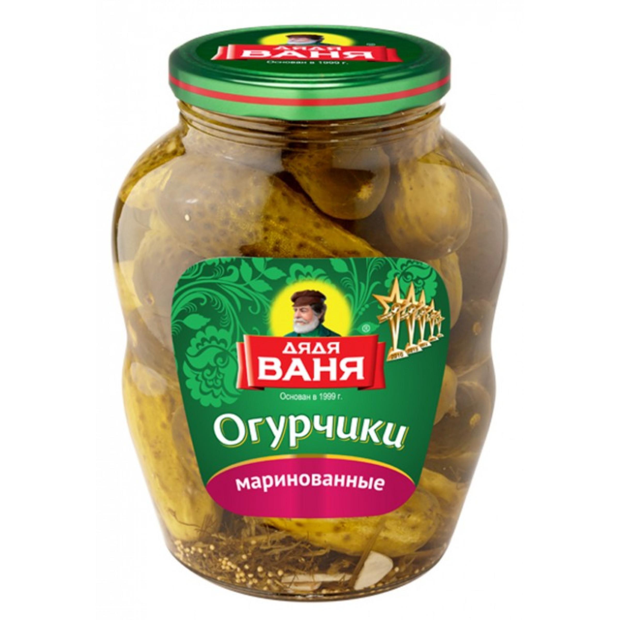 """Огурчики маринованные """"Дядя Ваня"""", 1800гр"""