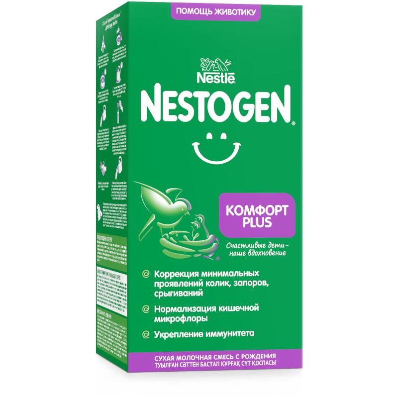 NESTOGEN Комфорт Plus 1 сухая молочная смесь, 350г