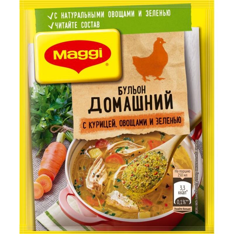Бульон Домашний МАГГИ с курицей в порошке, 100 гр