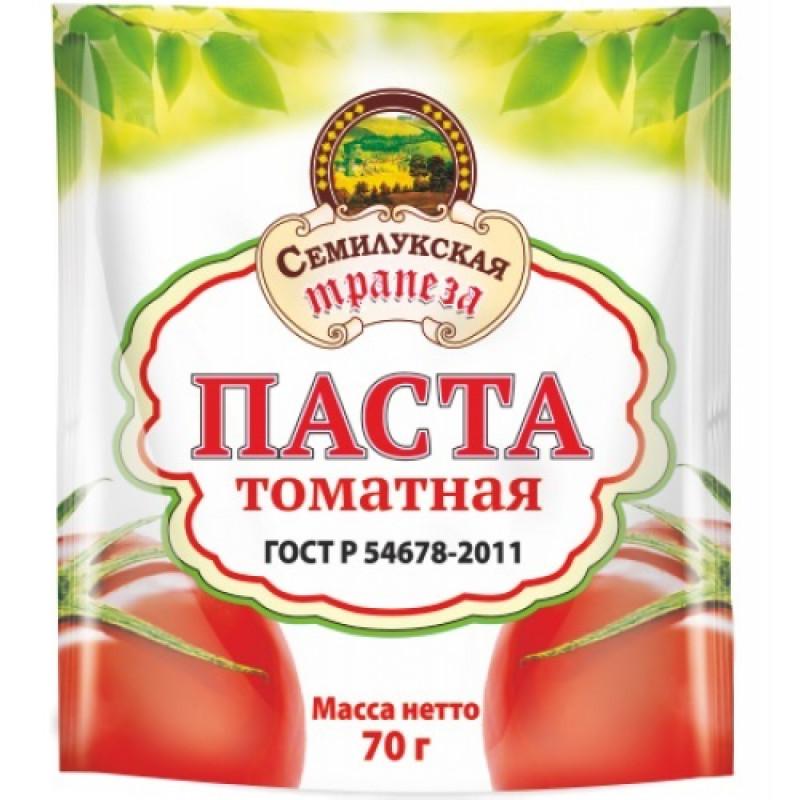 Томатная паста Шоу-бокс Семилукская трапеза, 70 гр