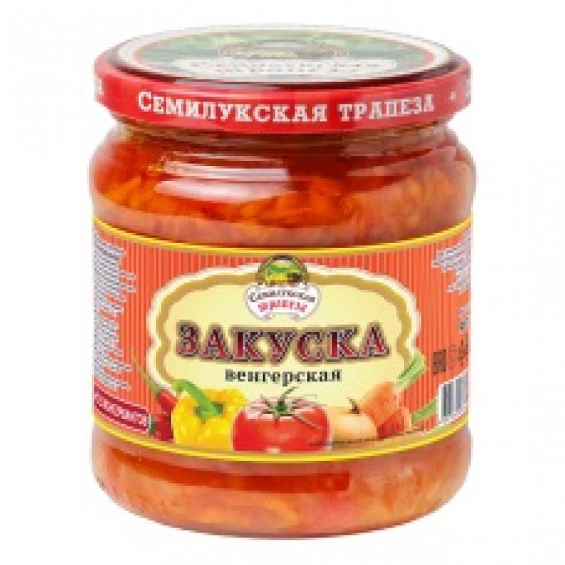 """Закуска """"Венгерская"""" Семилукская трапеза, 460гр."""