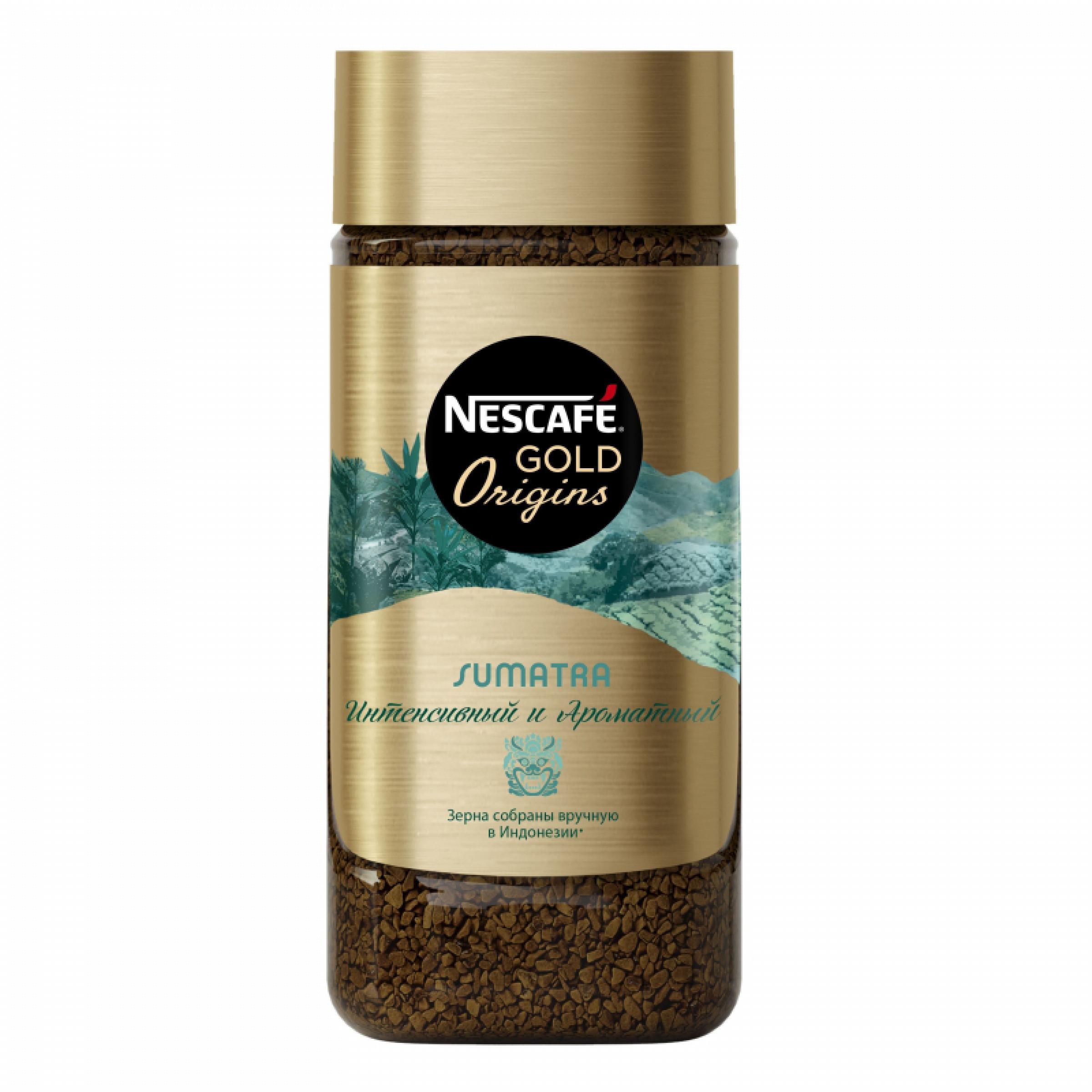 Кофе растворимый Nescafe Gold Origins Sumatra, 85 г