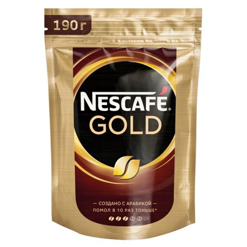 Кофе растворимый NESCAFE GOLD, 190г