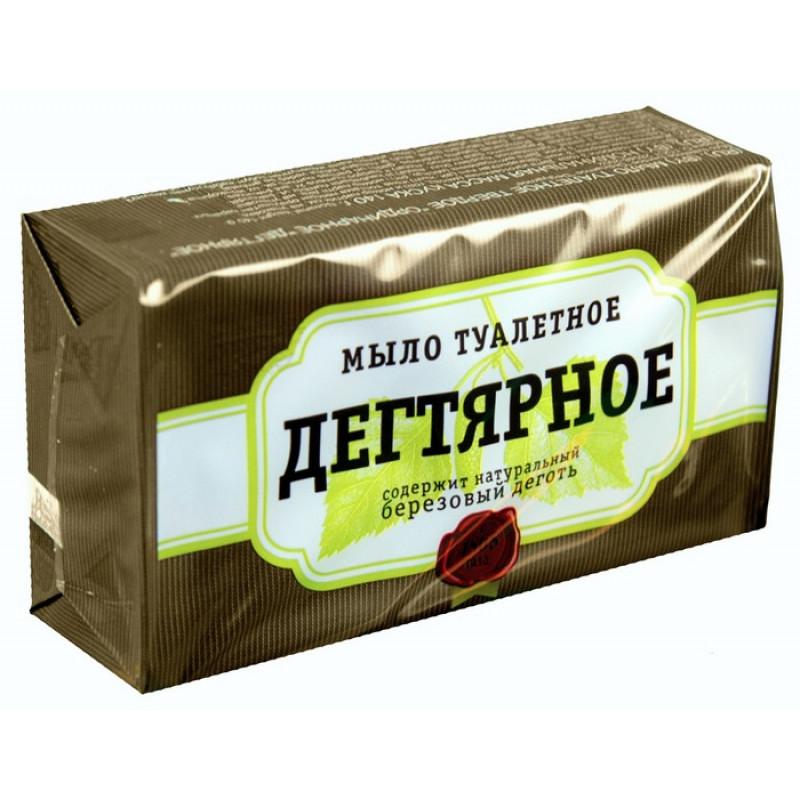 """Мыло """"АИСТ"""" туалетное дегтярное, 140г"""
