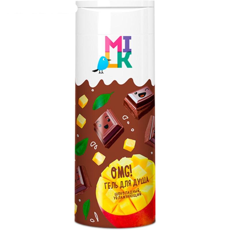 """Гель для душа """"MILK"""" шоколадный увлажняющий, 400 мл"""