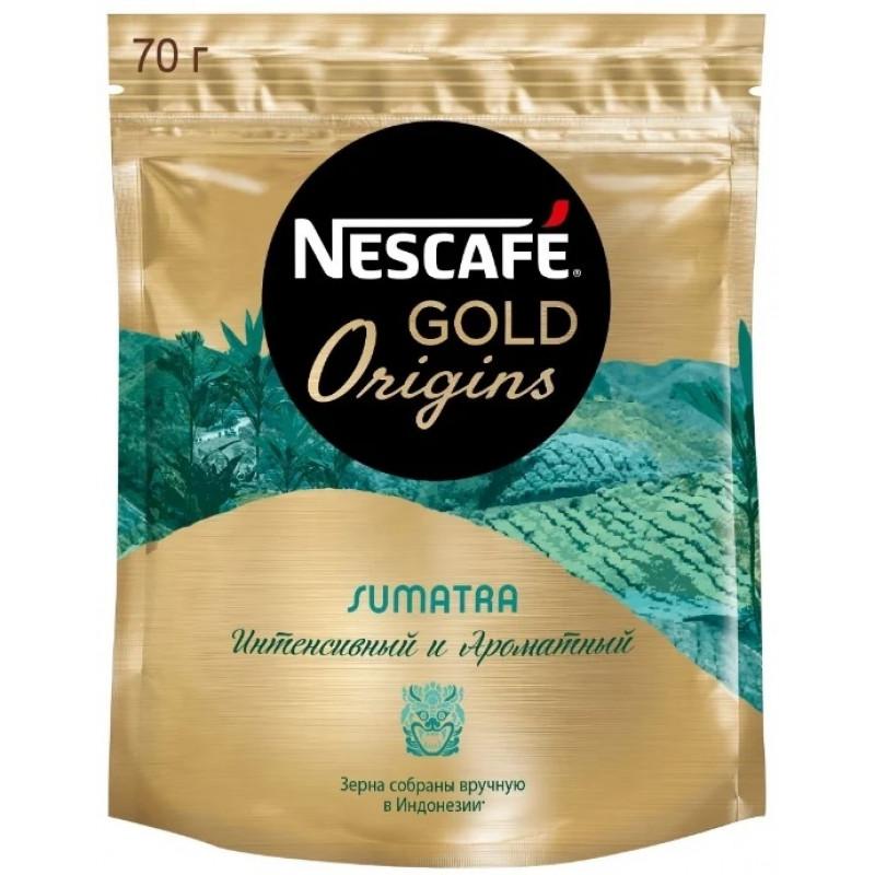 Кофе растворимый Nescafe Gold Origins Sumatra, 70 г