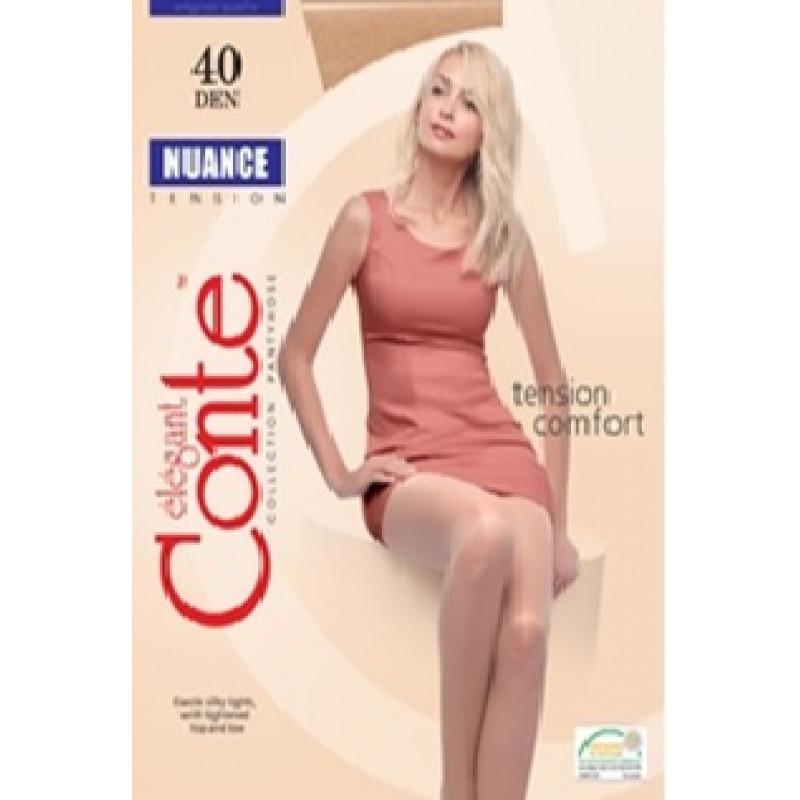 Колготки женские Conte Nuance 40, цвет natural (натуральный), размер 3