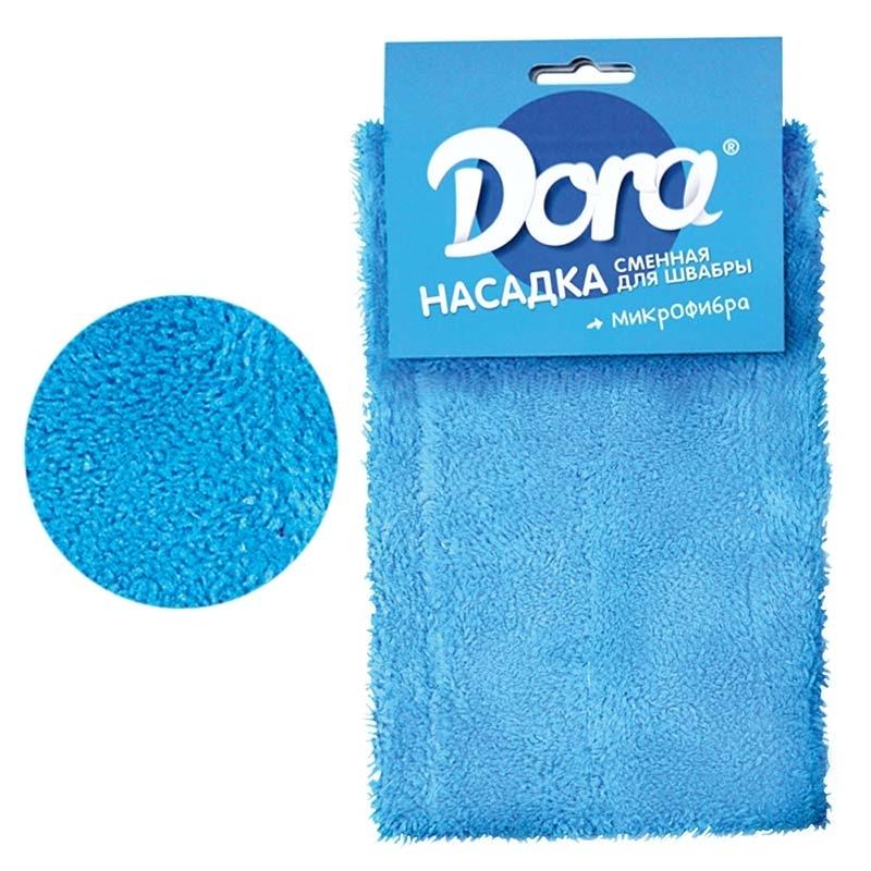 Насадка для швабры Dora сменная из микрофибры, 1 шт