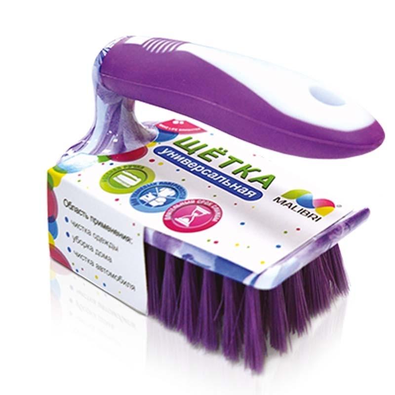 Щетка универсальная Malibri с ручкой для уборки и чистки одежды