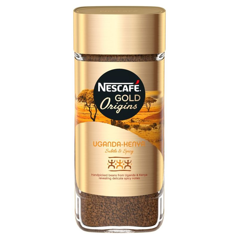 Кофе растворимый Nescafe Gold Uganda-Kenya, 85 г