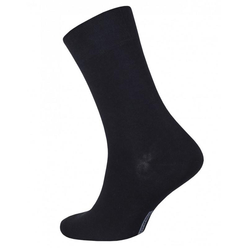 Носки мужские CONTE CLASSIC антибактериальные черные, 44-45 размер