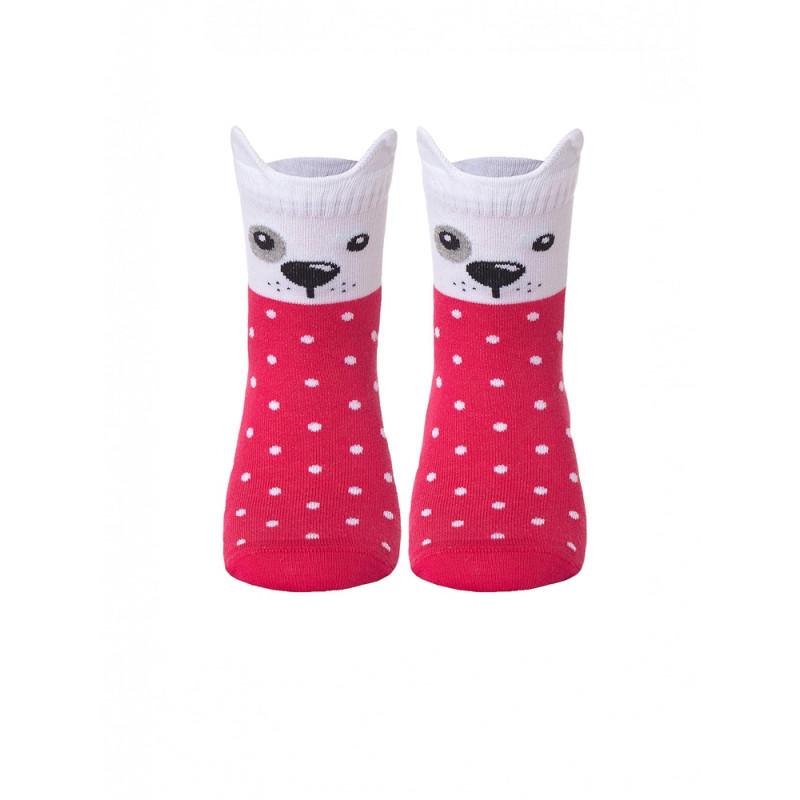 Носки детские CONTE TIP-TOP Мордашки «Собачки», размер 14