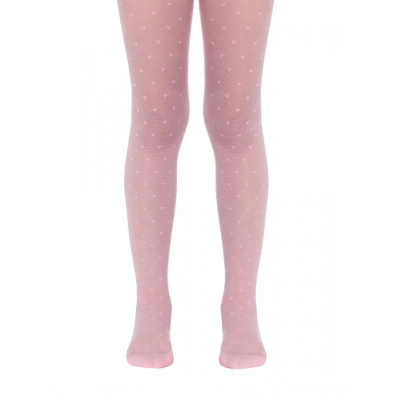 Колготки детские Conte Anabel полиамидные нарядные, 20 den, размер 116-122, pink