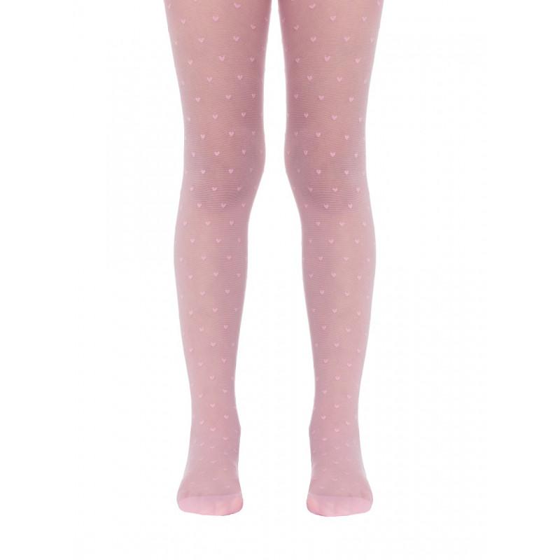 Колготки детские Conte Anabel полиамидные нарядные, 20 den, размер 140-146, pink