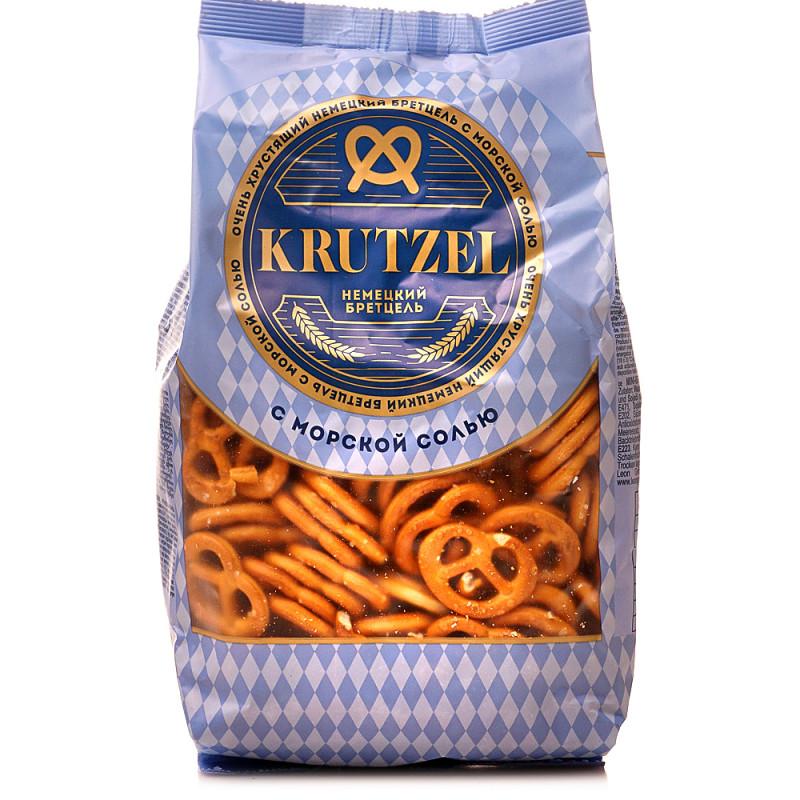 Крендельки Krutzel Бретцель с солью, 250 гр