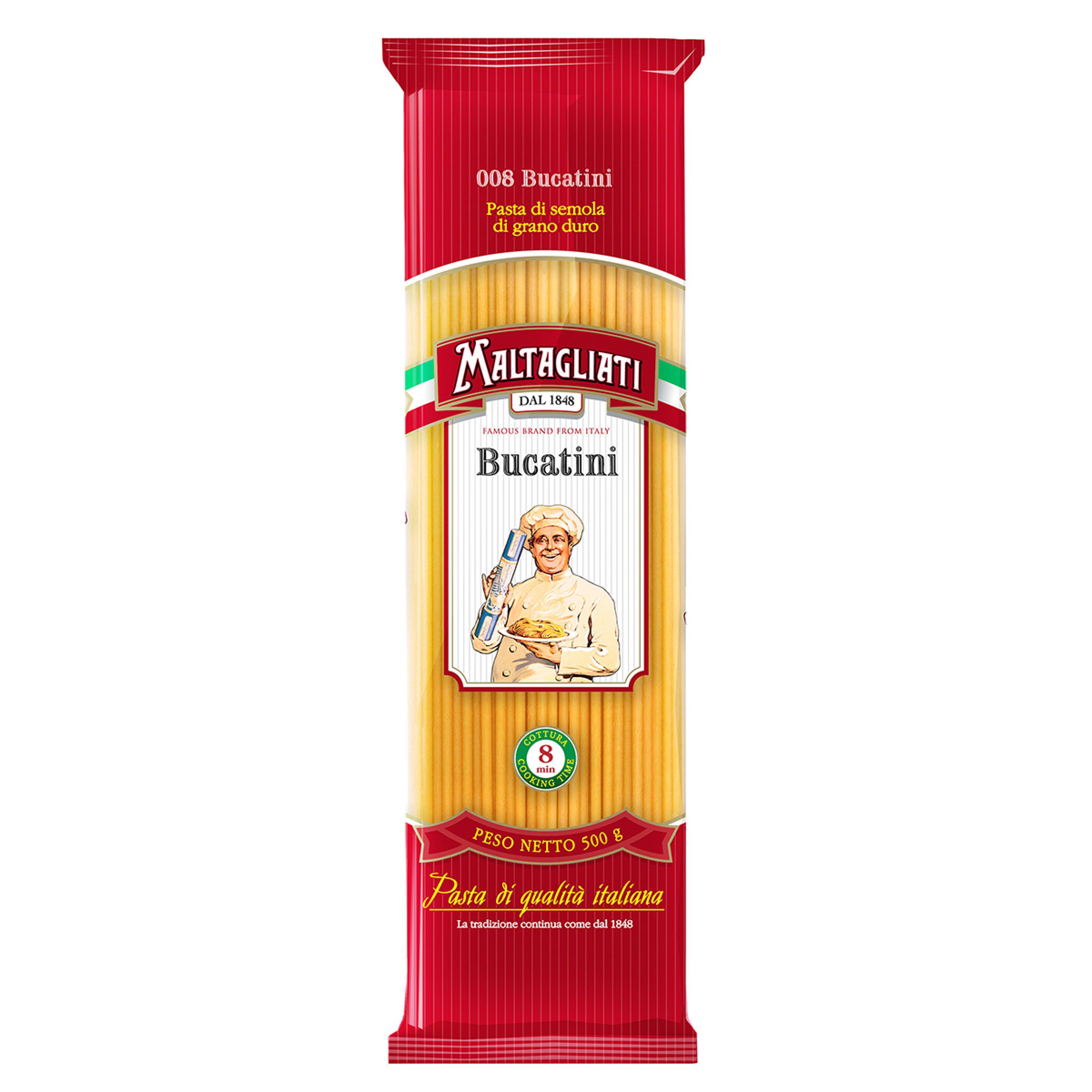 Макаронные изделия Maltagliati Bucatini 008, 500г