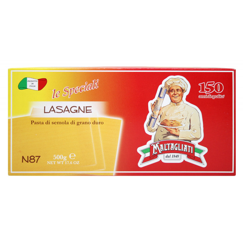 Макаронные изделия Maltagliati №87 лазанья 500г