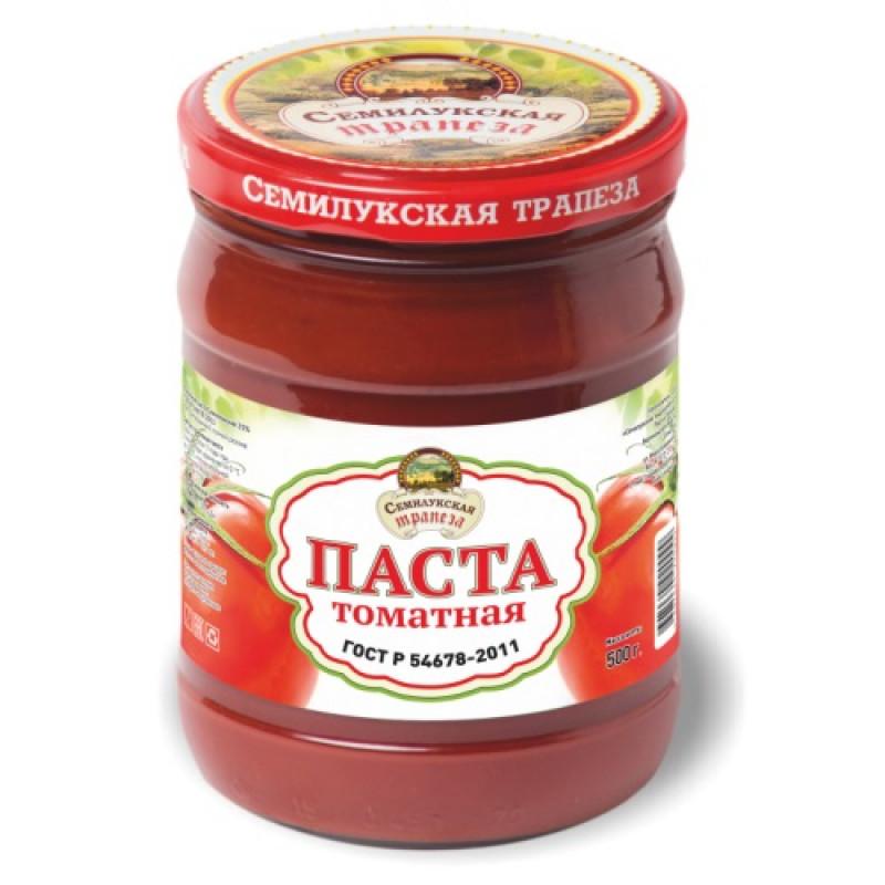 Томатная паста Семилукская трапеза, 500 гр