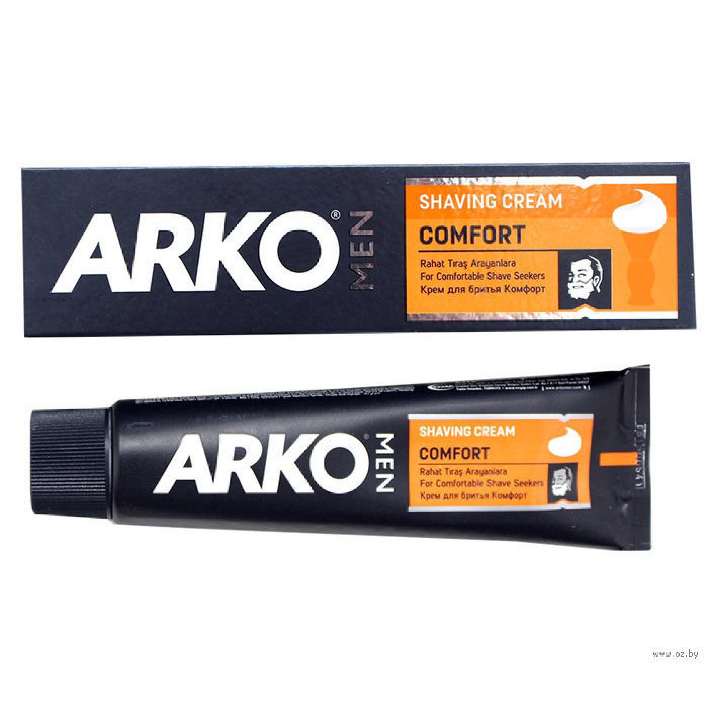 Крем для бритья Arko Men Comfort, 65г