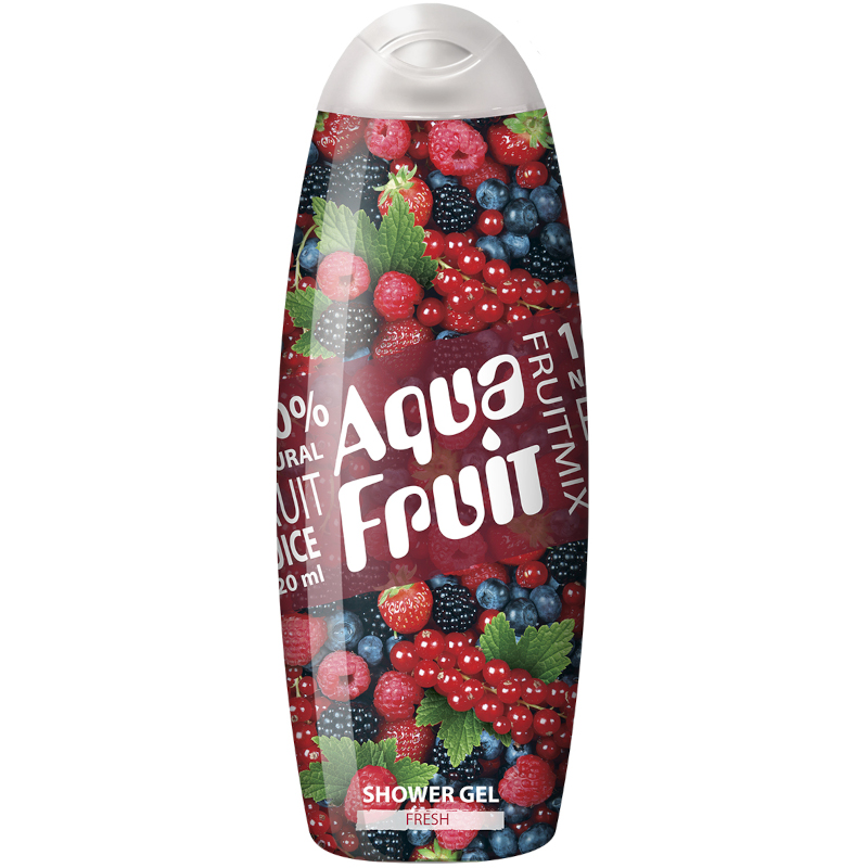 Гель для душа Aquafruit Fresh, 420 мл