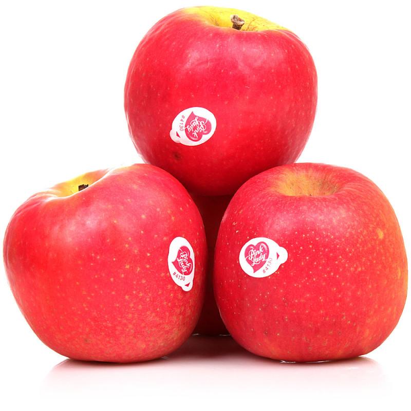 Яблоки Пинк розовые свежие весовые, средний вес 1, 2 кг.