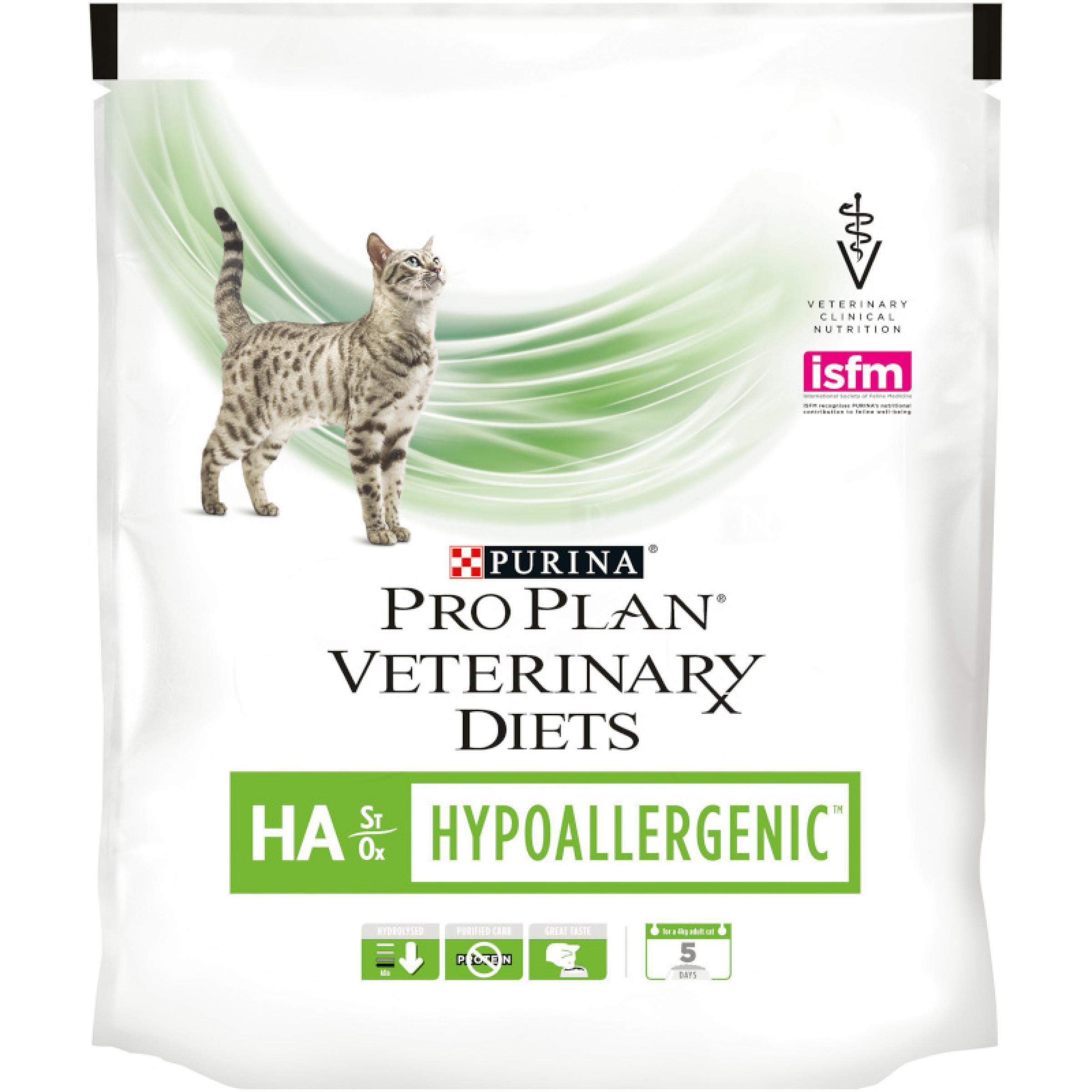 """Сухой корм для кошек при аллергии """"Purina Pro Plan Veterinary diets"""" HА, 325гр"""