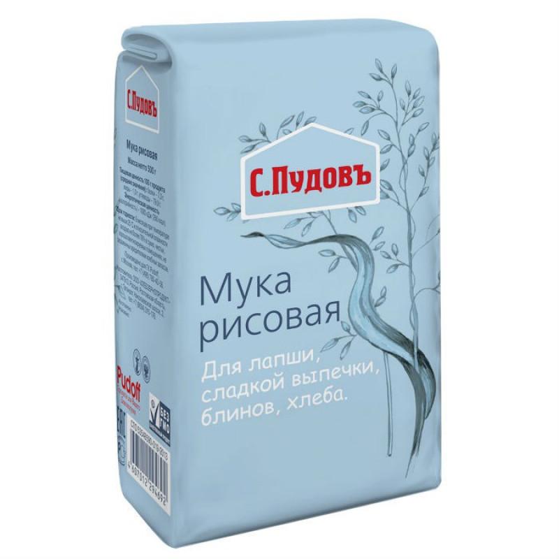 Рисовая мука С. Пудовъ, 500 г