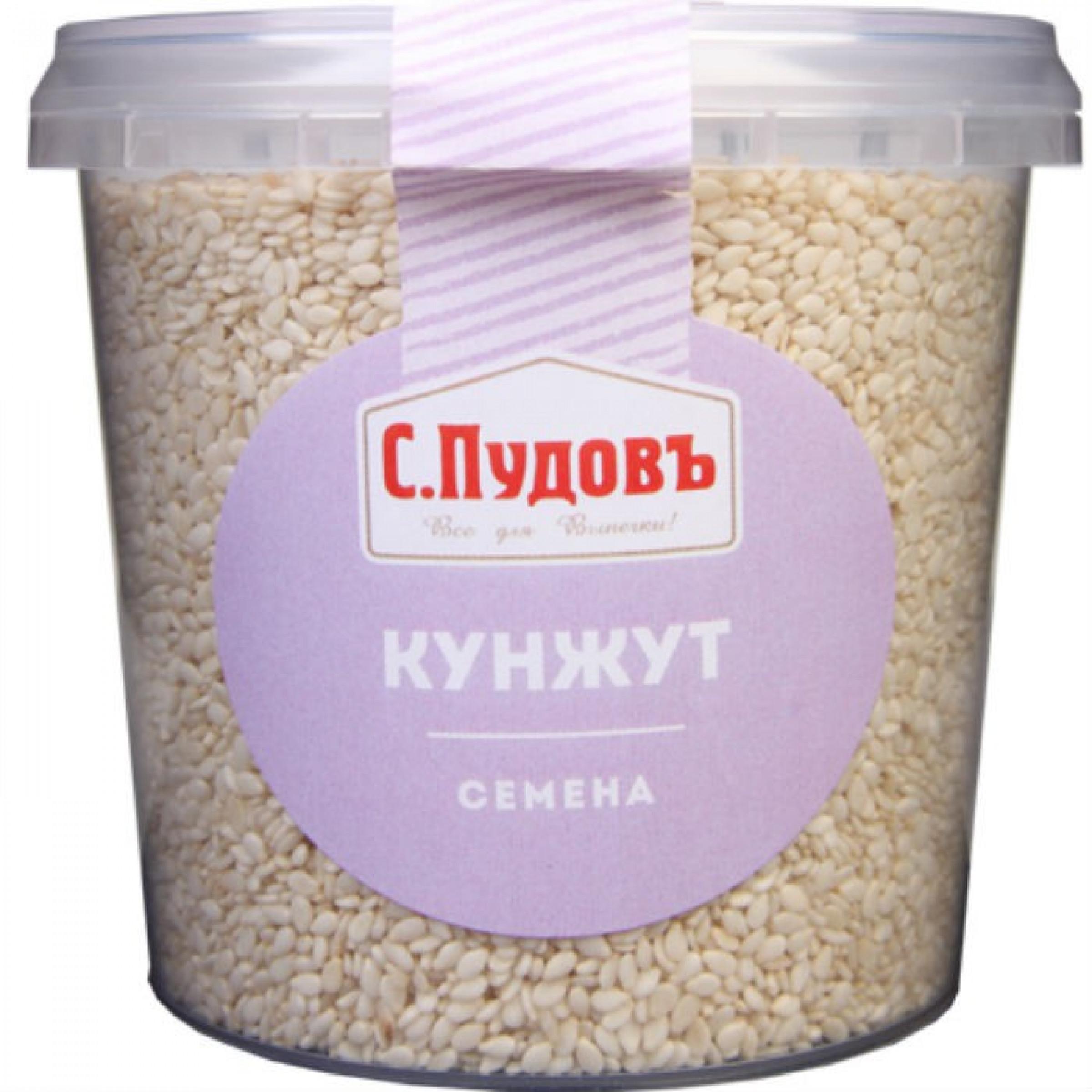 Семена кунжута С. Пудовъ, 190 г