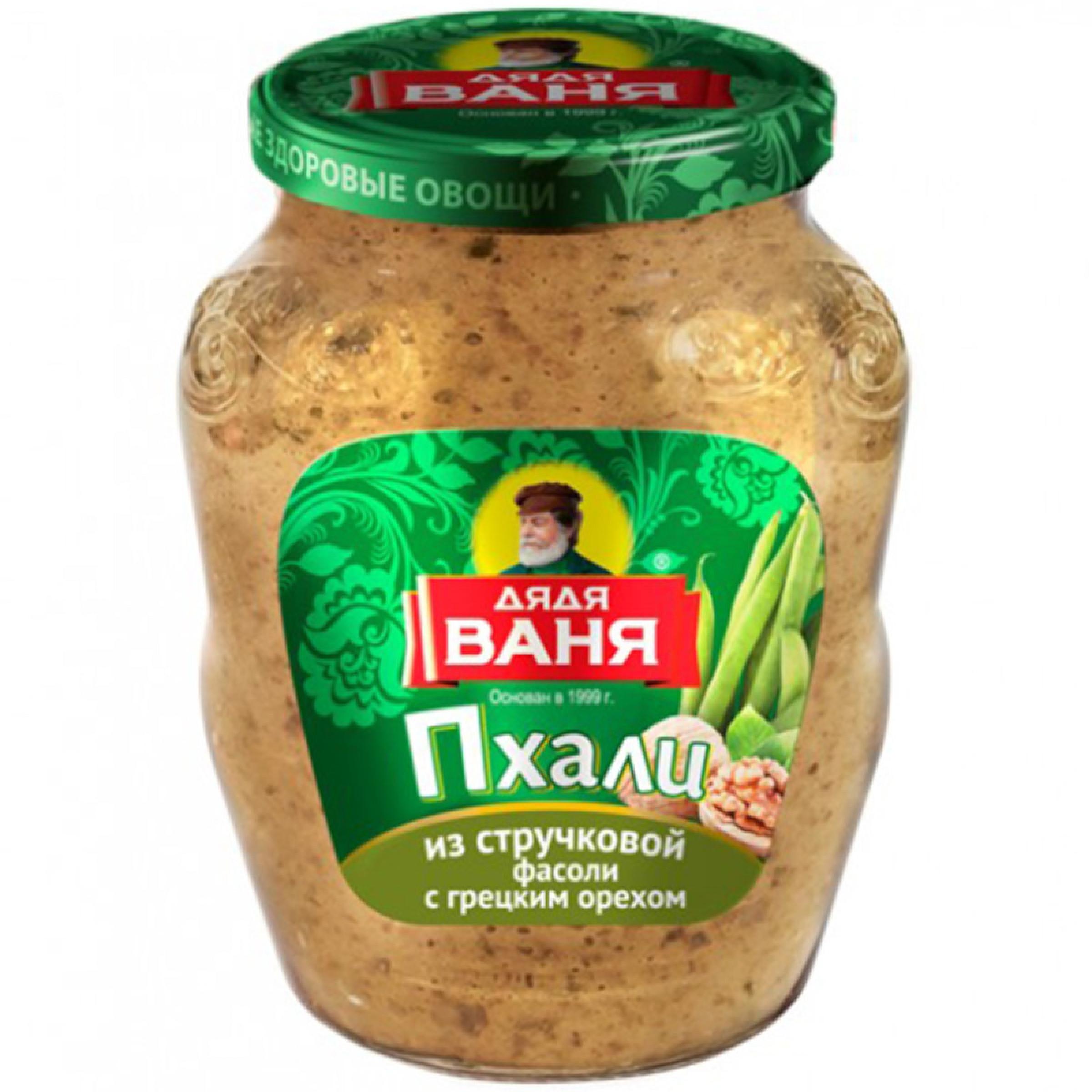"""Пхали из стручковой фасоли с грецким орехом """"Дядя Ваня"""", 350гр"""