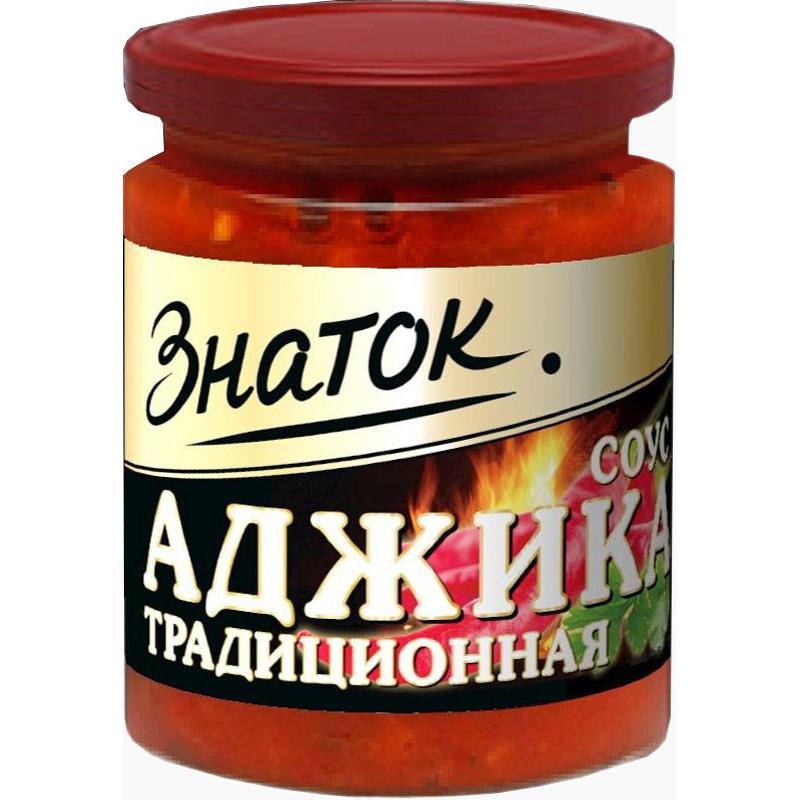 "Аджика Традиционная ""Знаток"", 170гр"