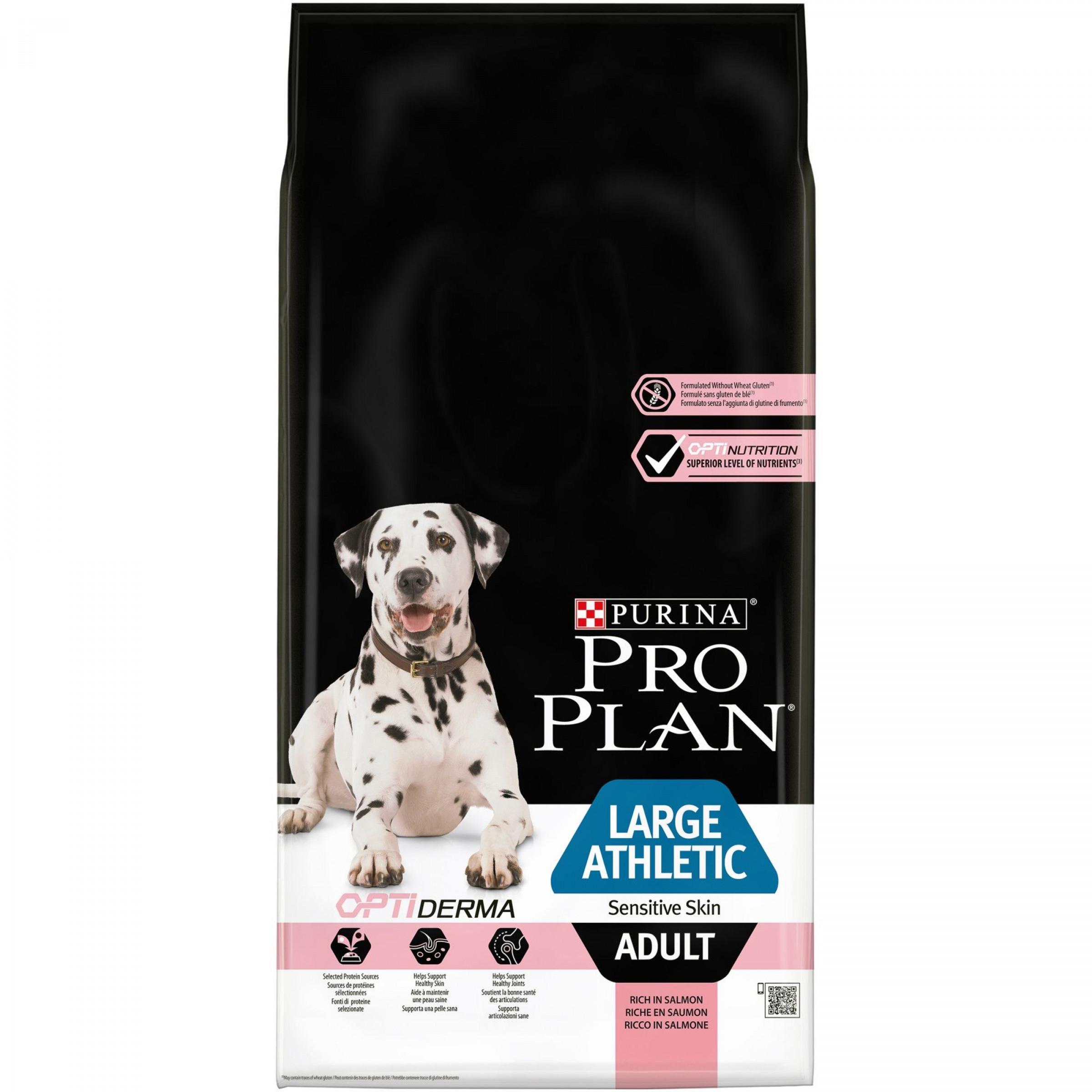 Сухой корм для собак крупных пород атлетически сложенных с чувст