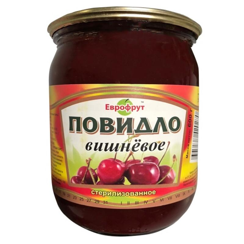 "Повидло вишневое ГОСТ ""Еврофрут"", 600гр"