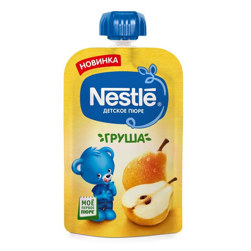 """Пюре из груш """"Nestle"""", 90гр"""