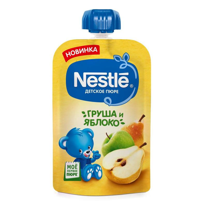 """Пюре из яблока и груши """"Nestle"""", 90гр"""
