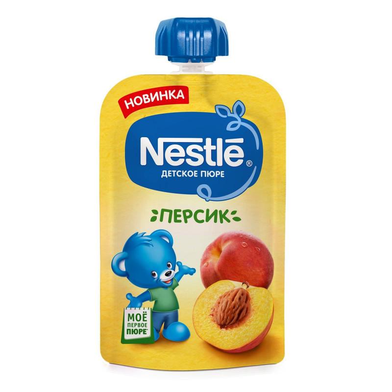 "Пюре персиковое ""Nestle"", 90гр"