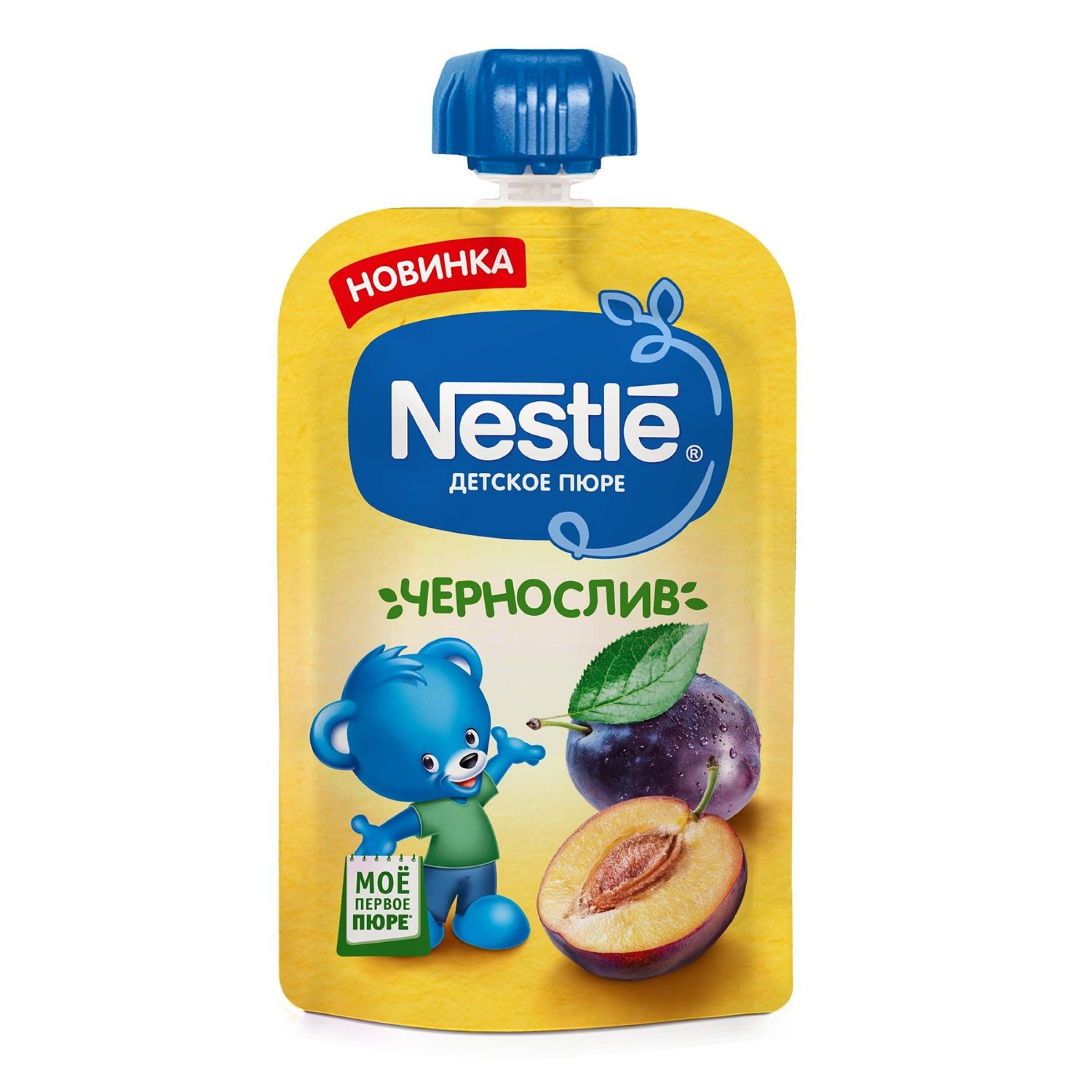 """Пюре из чернослива """"Nestle"""", 90гр"""