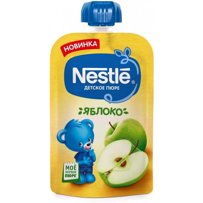 """Пюре детское с яблоком """"Nestle"""", 90гр"""