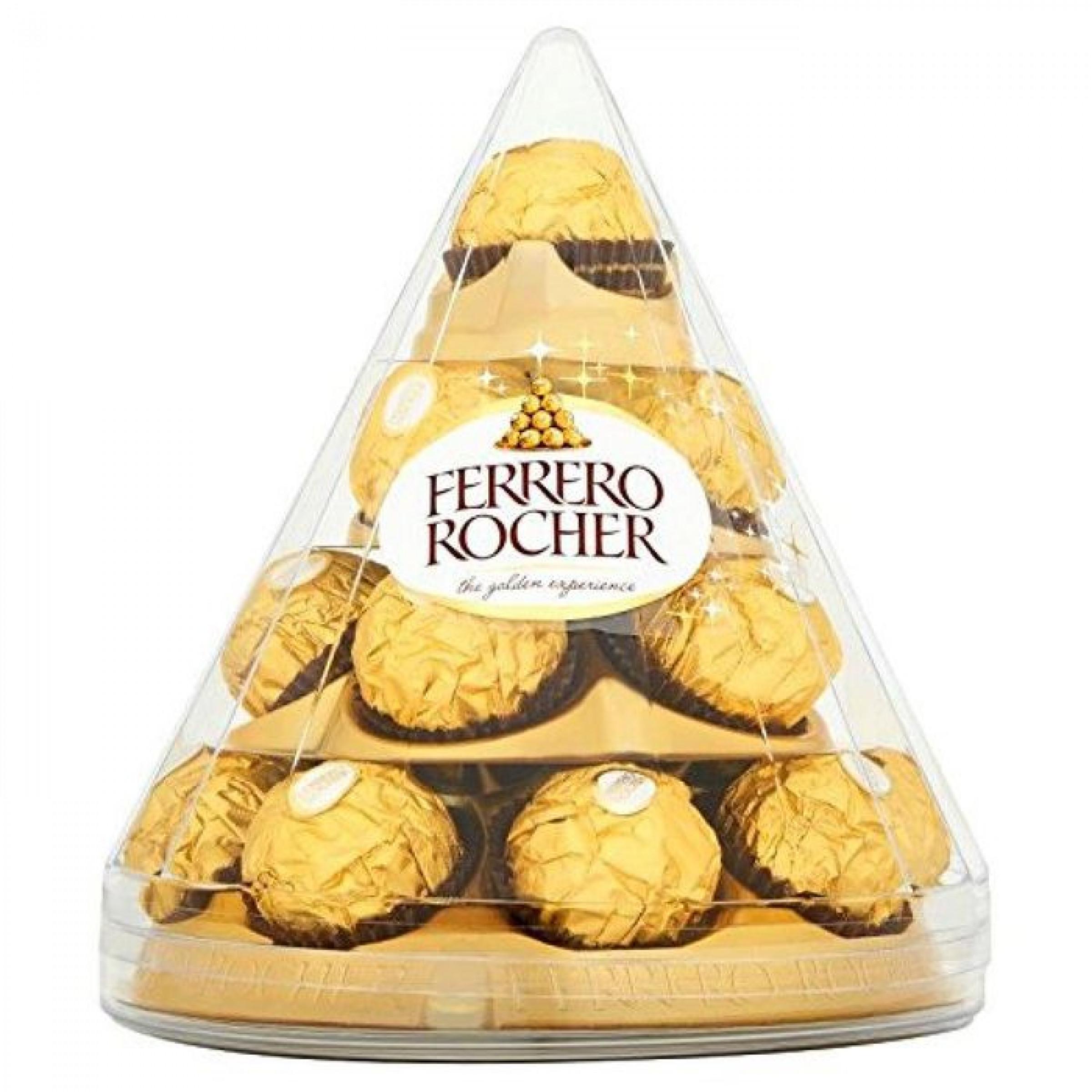 """Конфеты из молочного шоколада """"Ferrero Rocher"""", 212. 5гр"""