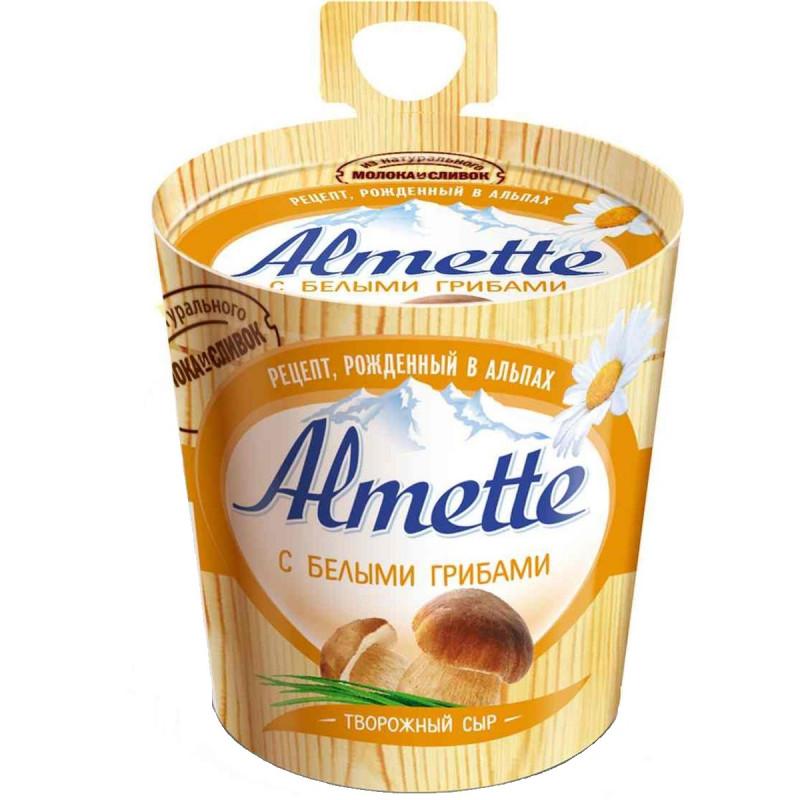"""Сыр творожный с белыми грибами """"Almette Hochland"""", 150гр"""