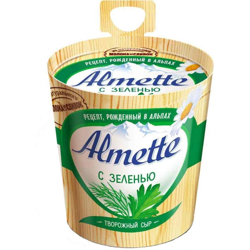 """Сыр творожный с зеленью """"Almette Hochland"""", 150гр"""
