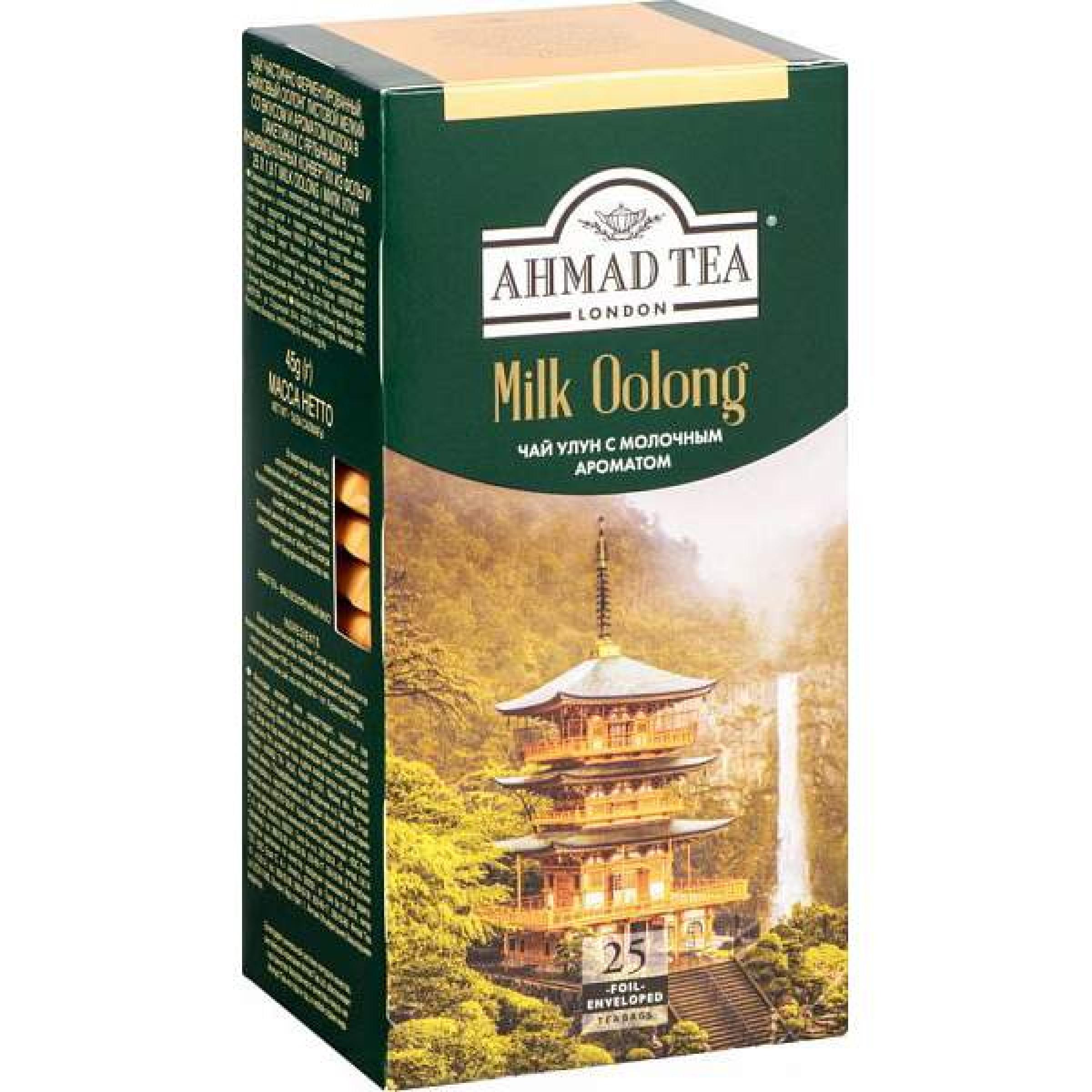 """Чай Milk Oolong """"Ahmad Tea"""", 25*2гр."""