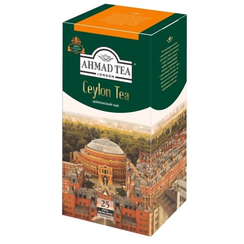 "Чай цейлонский ""Ahmad Tea"", 25*2гр"